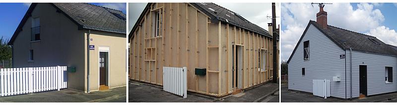 Isolation maison par l ext rieur bardage - Isolation maison par l exterieur ...